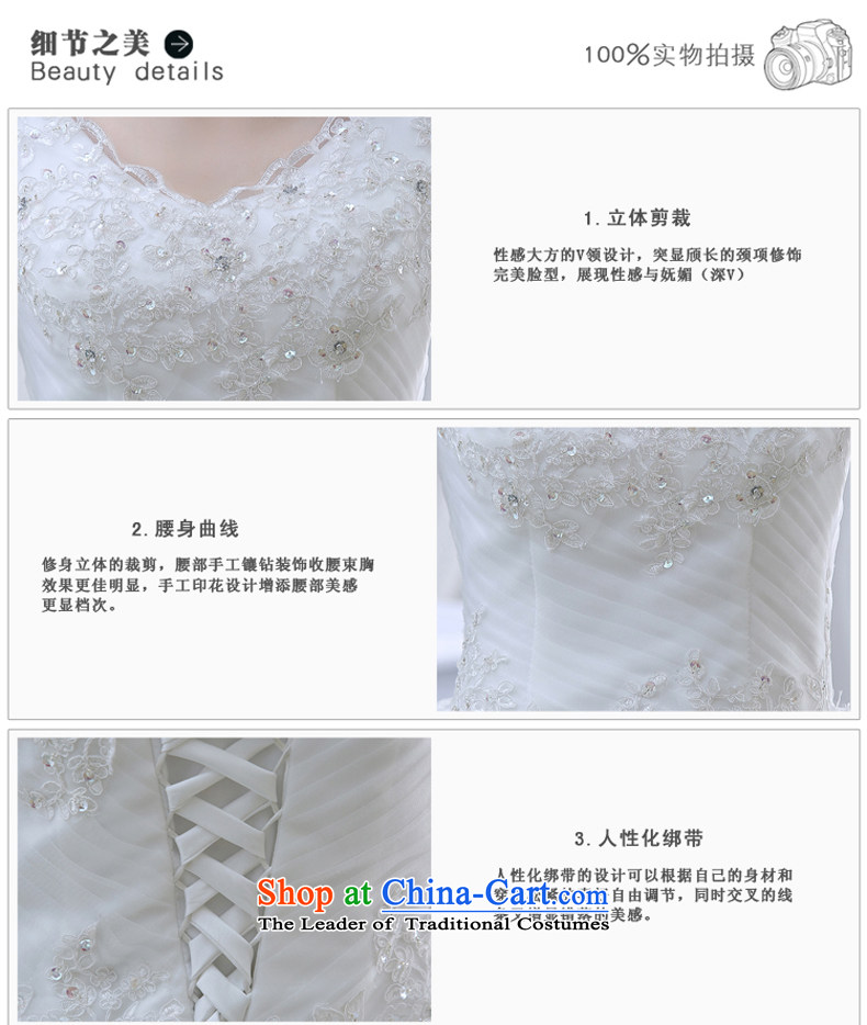 Wedding dresses spring 2015 new lace shoulders of diamond ornaments deluxe to align the wedding White聽M pictures, prices, brand platters! The elections are supplied in the national character of distribution, so action, buy now enjoy more preferential! As soon as possible.