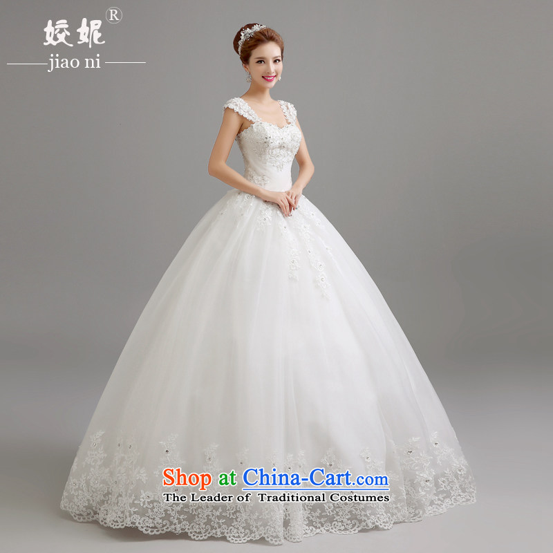 Connie wedding dresses every new spring 2015 shoulders to align the wedding to erase the word chest shoulder wedding Korean style to align the irrepressible video thin bon bon skirt princess white�S