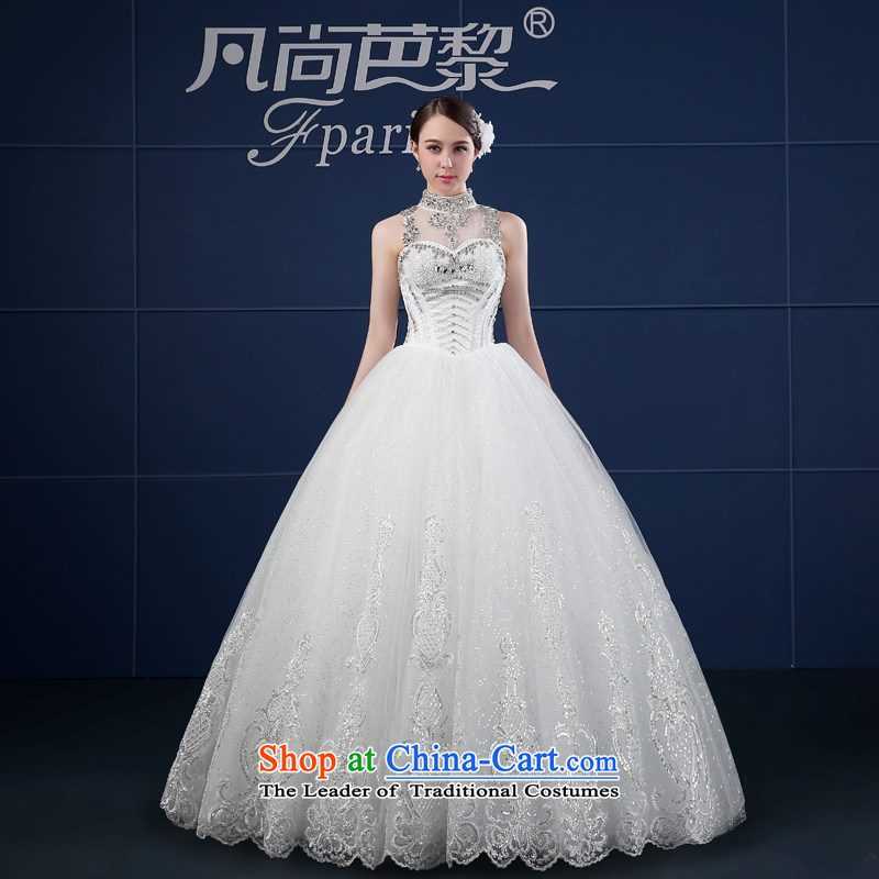 Where Is Barbara Lai wedding dresses 2015 Spring/Summer new large land align Sau San retro-history wedding White?M summer Bride