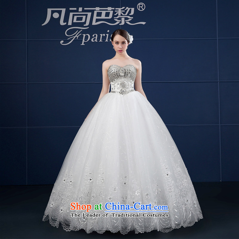 Where does the Paris wedding dresses 2015 new spring and summer retro large custom anointed chest of the funds from the bride wedding summer White?XXL