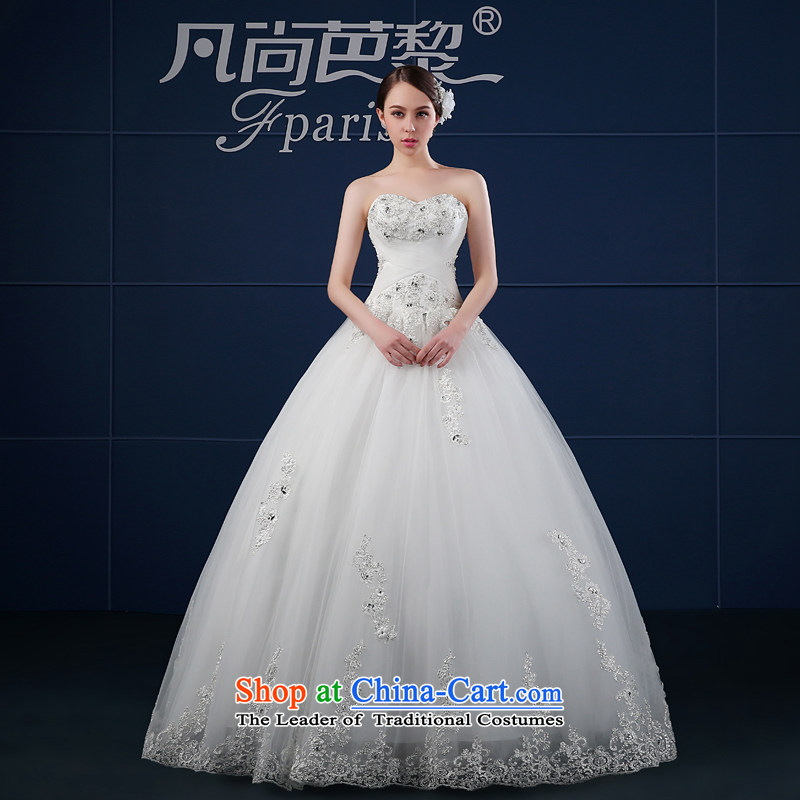 Wedding dresses 2015 Spring New anointed chest to wedding Korean large custom bride wedding summer Sau San trailing white聽S