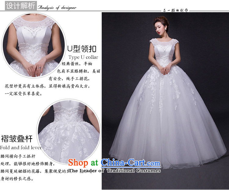 Hei Kaki wedding dresses 2015 new autumn and winter noble stylish shoulders lace bon bon petticoats align to bind with wedding JX14 ivory XS picture, prices, brand platters! The elections are supplied in the national character of distribution, so action, buy now enjoy more preferential! As soon as possible.