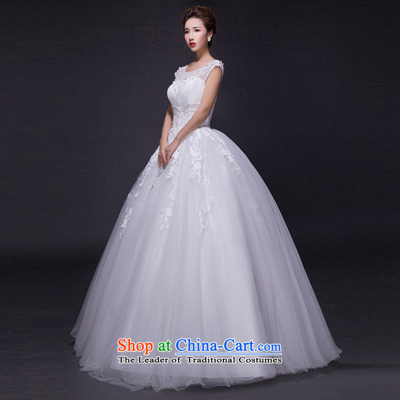 Hei Kaki wedding dresses 2015 new autumn and winter noble stylish shoulders lace bon bon petticoats align to bind with wedding JX14 ivory XS, Hei Kaki shopping on the Internet has been pressed.