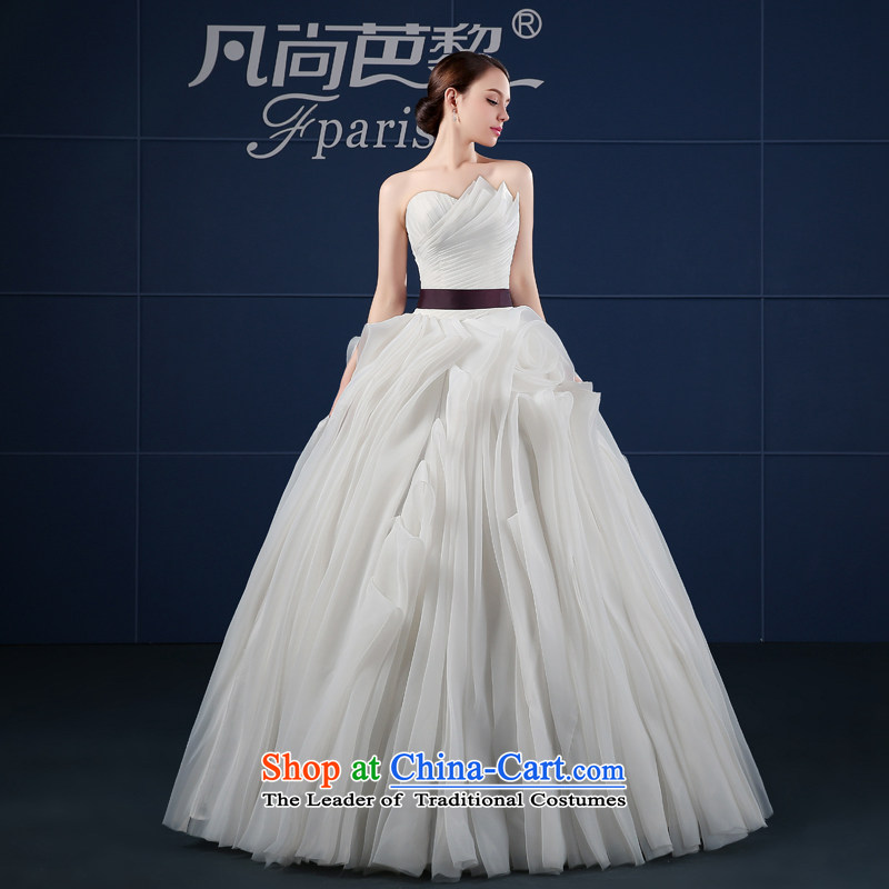 Where Is Barbara Lai wedding dresses 2015 Spring_Summer new larger Sau San Palace retro bon bon skirt bride wedding summer white?S