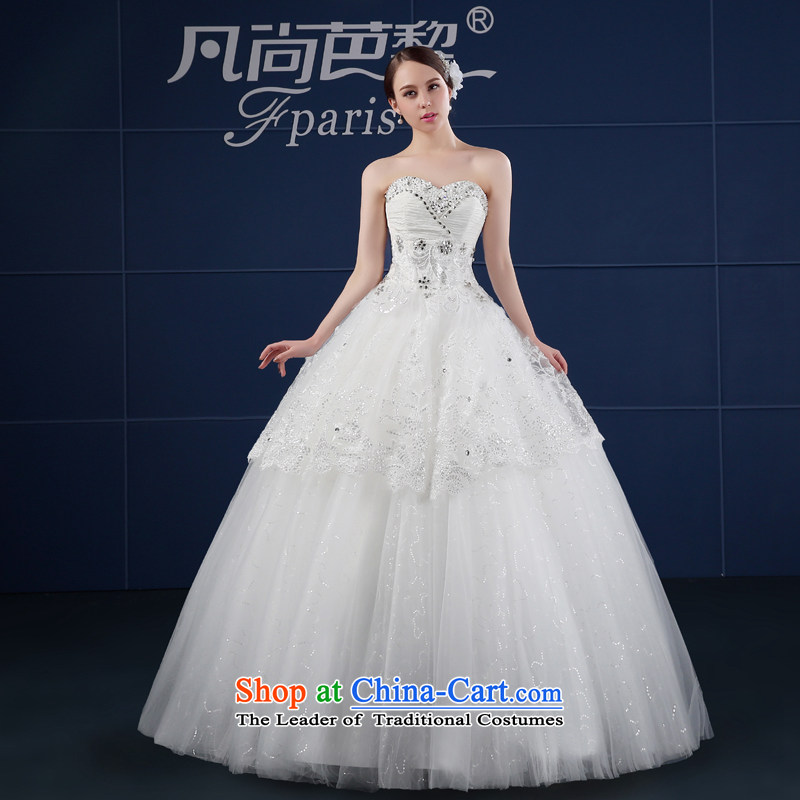 Where Is Barbara Lai FSUNPARES/ wedding dresses in spring and summer 2015 new Korean version of large code and chest bride wedding White?XL