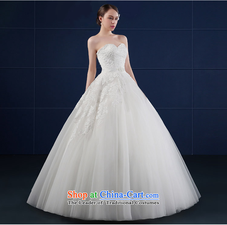 Wedding dress 2015 new spring and summer Korean large wiping the chest simple drill to align graphics Sau San thin bride wedding pictures, XXL white summer price, brand platters! The elections are supplied in the national character of distribution, so action, buy now enjoy more preferential! As soon as possible.