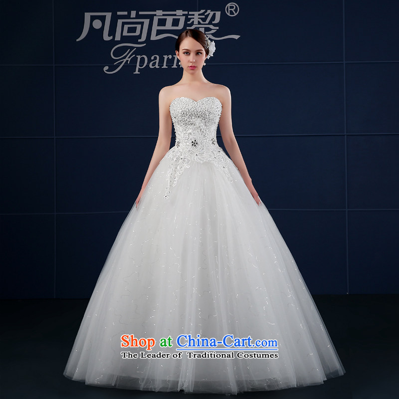Wedding dress 2015 new spring and summer Korean large custom video thin and Sau San chest of the funds from the bride wedding summer white�L