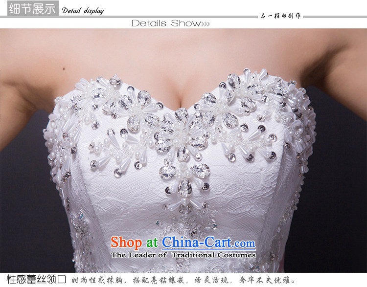 Hei Kaki wedding dresses 2015 new autumn and winter noble sexy anointed chest lace bon bon petticoats align to bind with wedding JX16 ivory S picture, prices, brand platters! The elections are supplied in the national character of distribution, so action, buy now enjoy more preferential! As soon as possible.