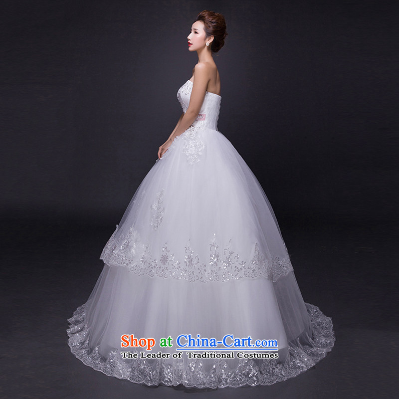 Hei Kaki wedding dresses 2015 new autumn and winter noble sexy anointed chest lace bon bon petticoats align to bind with wedding JX16 ivory S, Hei Kaki shopping on the Internet has been pressed.