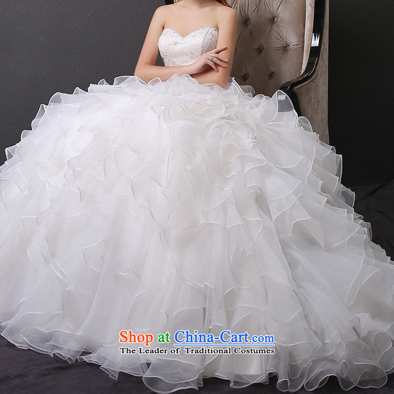 Custom Wedding 2015 dressilyme wedding dresses spring and summer new bride anointed chest Princess Sau San Niba bon bon skirt align to bind with the white spot XXS,DRESSILY - no OCCASIONS ME WEAR ON-LINE,,, shopping on the Internet
