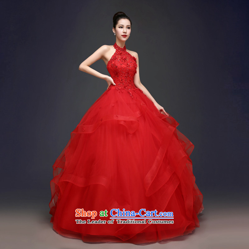 Each original Connie red wedding dresses spring 2015 Korean sexy sleeveless hang also marriages video thin princess bon bon skirt summer hunsha female red tailored does not allow for seven days, every JIAONI stephanie () , , , shopping on the Internet