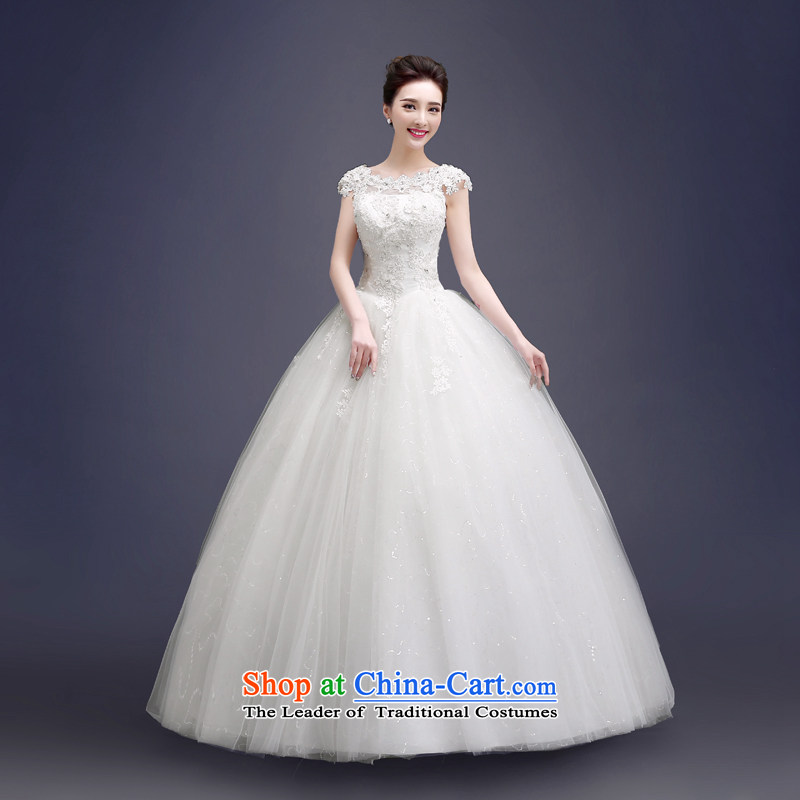 Connie wedding dresses every one shoulder white bride Wedding� 2015 Summer Korean freight of alignment JNHS0018 white tailored does not allow for seven days of