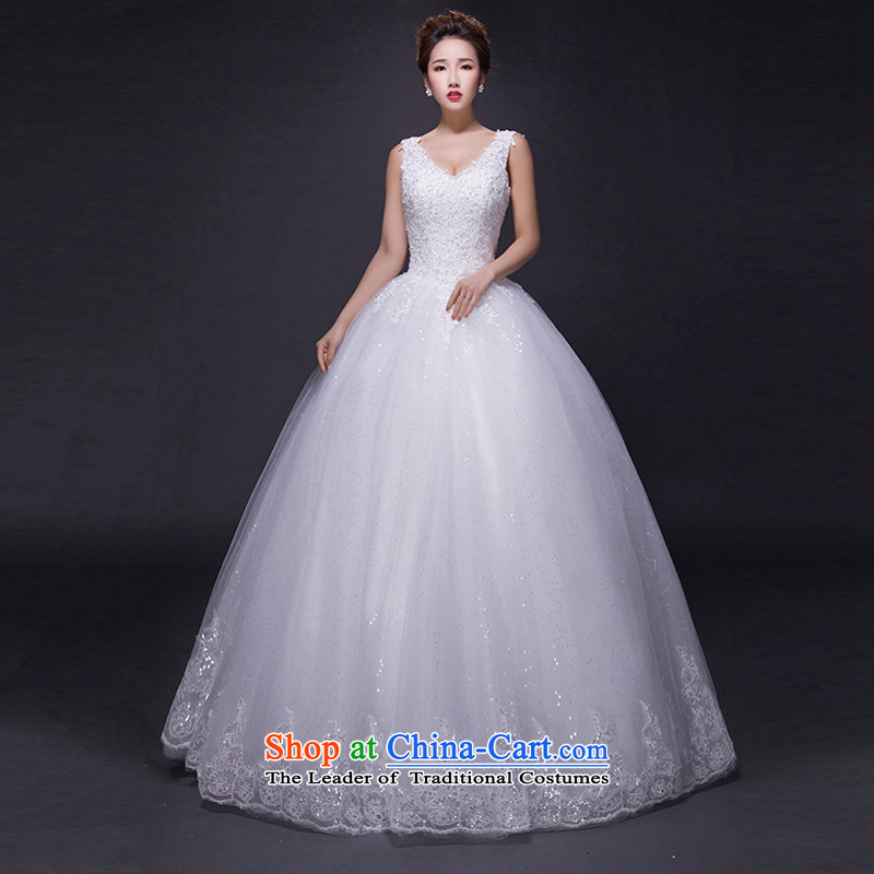 Hei Kaki wedding dresses 2015 new autumn and winter noble retro collar lace bon bon petticoats align to bind with wedding JX19 ivory XS