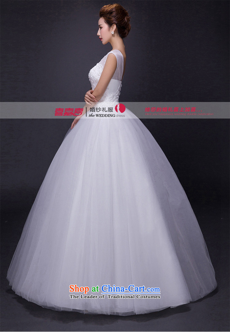 Hei Kaki wedding dresses 2015 new autumn and winter noble retro collar lace bon bon petticoats align to bind with wedding JX22 ivory XS picture, prices, brand platters! The elections are supplied in the national character of distribution, so action, buy now enjoy more preferential! As soon as possible.