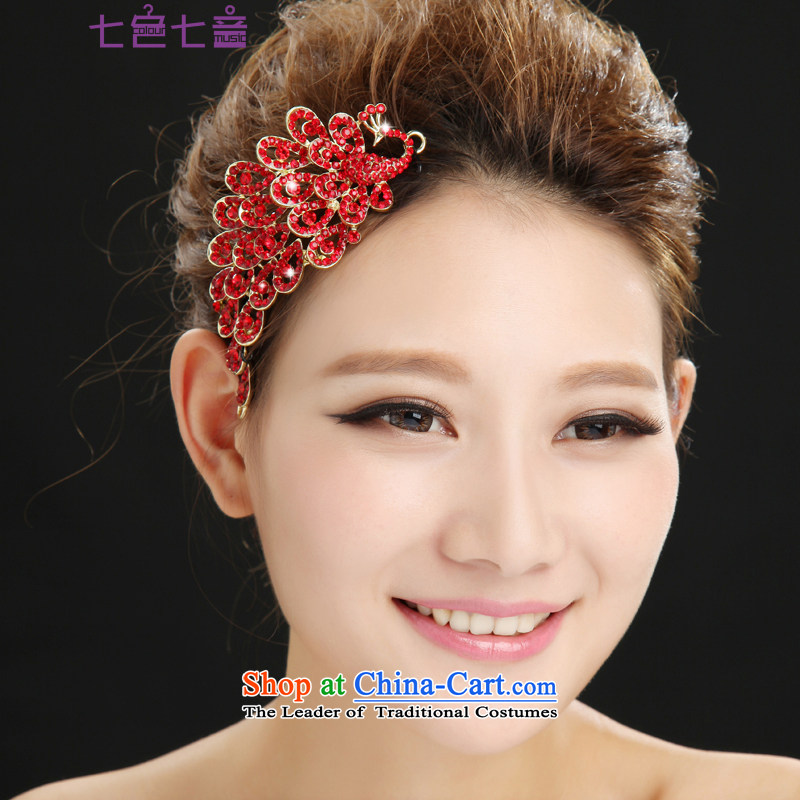 7 Color 7 tone new bride red crown headdress marriage yarn Jewelry & Exp wedding ornaments?SP002 hair accessories?will crown