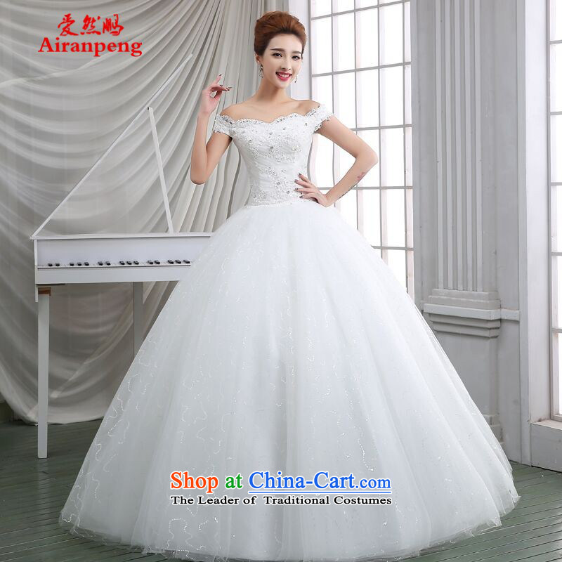 The first field shoulder bags wedding dresses 2015 new stylish Korean brides spring up to bind with the girl on-chip video thin drill�XL package returning