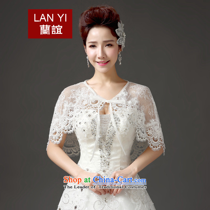 In?2015, Friends bride wedding dresses accessories shawl Korean summer video thin lace water drilling sunscreen marriage are code quality assurance shawl thick thin is good through
