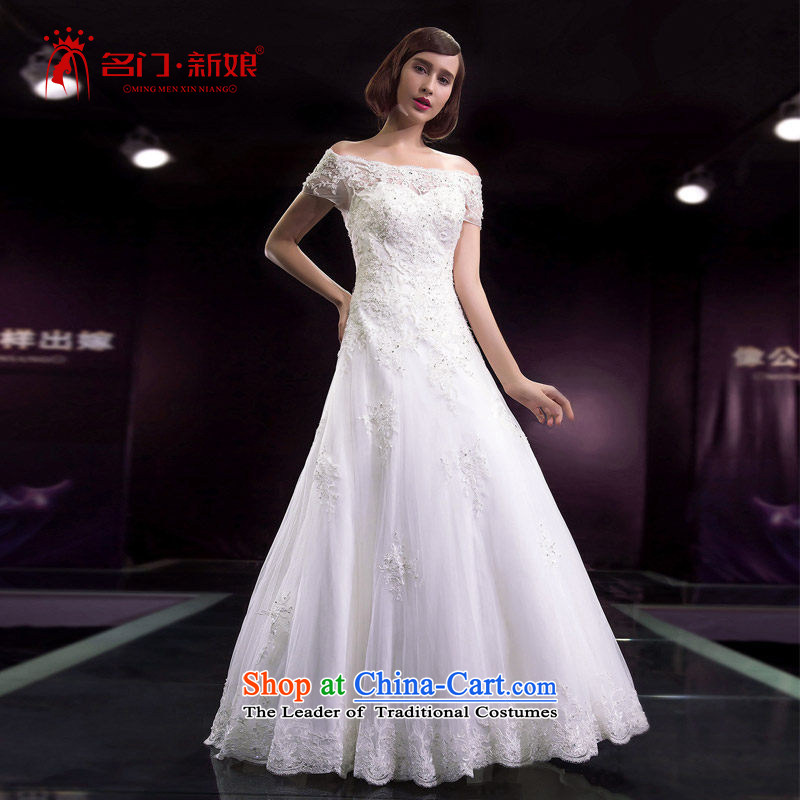 A Bride 2015 Summer Wedding dress your shoulders in a wedding shoulders wedding Korean style�2 586 L pre-sale 7 Days