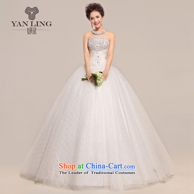 Charlene Choi Ling 2015 wedding custom sexy anointed chest Wedding Super to align the Sau San bride irrepressible sweet Korean wedding HS518 S