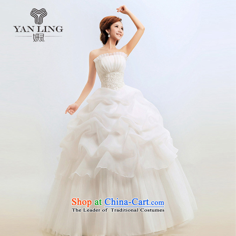Charlene Choi Ling Suzhou Wedding Korean wedding dresses new 2014 Korean Princess Mary Magdalene chest video thin wedding bride BK M