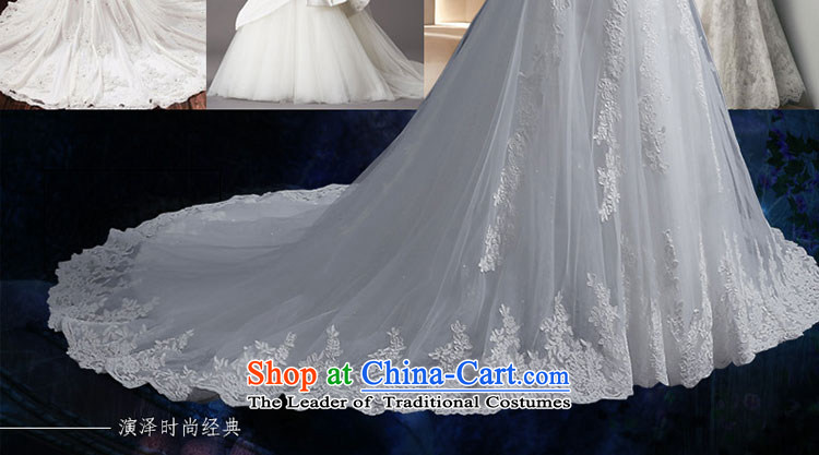 Crowsfoot Wedding 2015 new summer tail Sau San package and wedding sweet elegant crowsfoot anointed chest straps wedding video thin lace straps crowsfoot wedding yarn edge Lily White聽L picture, prices, brand platters! The elections are supplied in the national character of distribution, so action, buy now enjoy more preferential! As soon as possible.