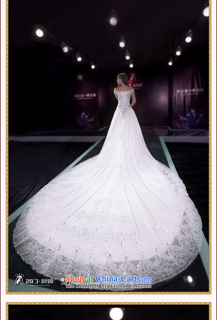 A bride wedding dresses new Word 2015 shoulder tail wedding bride wedding custom tailored 2585th 20% picture, prices, brand platters! The elections are supplied in the national character of distribution, so action, buy now enjoy more preferential! As soon as possible.