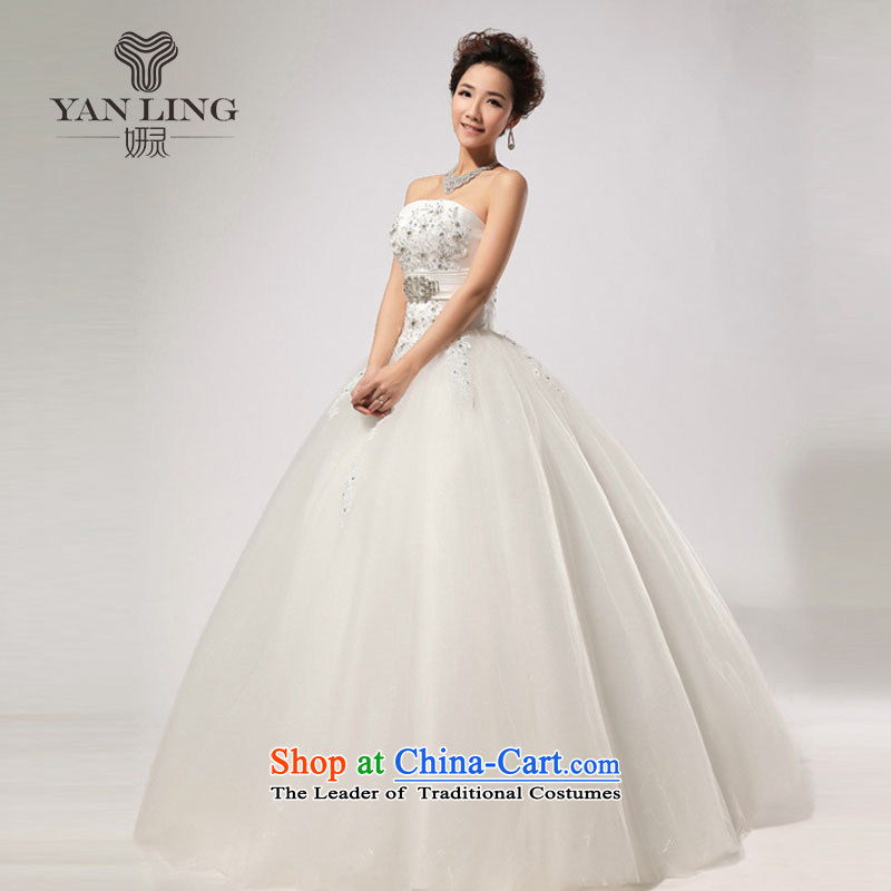 Charlene Choi Ling 2015 new wedding diamond drill, hand strap and video thin chest wedding HS269 White�M