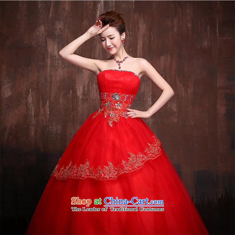 Charlene Choi Ling 2015 new Korean stars with Korean sweet flowers marriages wedding dresses聽, Charlene Choi spirit has been pressed J0013 shopping on the Internet