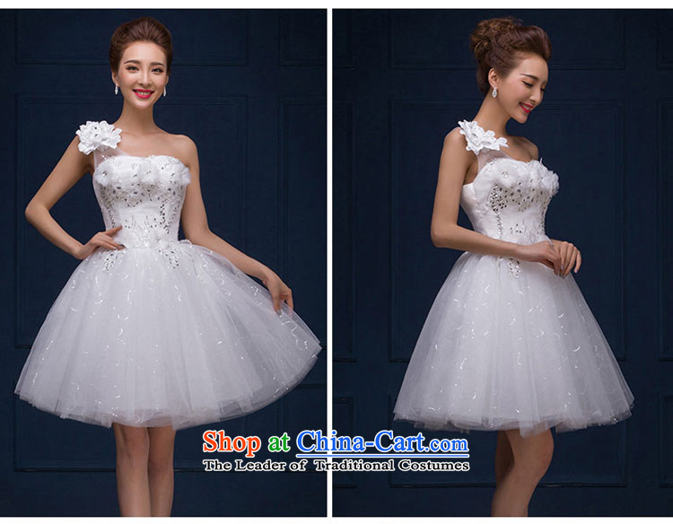 The feelings of ChineseNew Year 2015 yarn marriages wedding dresses Dress Short stylish small dress autumn and winter female whiteXL Photo, prices, brand platters! The elections are supplied in the national character of distribution, so action, buy now enjoy more preferential! As soon as possible.