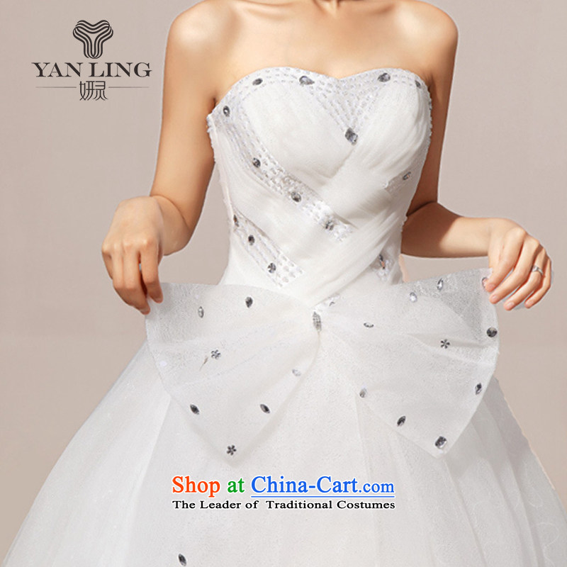 Charlene Choi Ling 2015 new wedding dresses wedding anointed chest Korean wedding dress sweet HS239 S, Charlene Choi spirit has been pressed shopping on the Internet