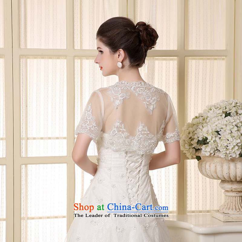 2015 new white Korean lace shawl cloak marriages lace Red Grand Prix yarn wedding shawl, Yi love is white , , , shopping on the Internet