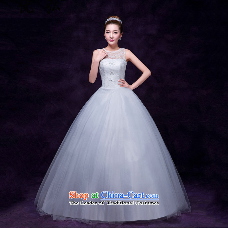 Optimize video new lace shoulders Foutune of wedding marriages to align the White gauze sweet video engraving dm5106 thin white?M