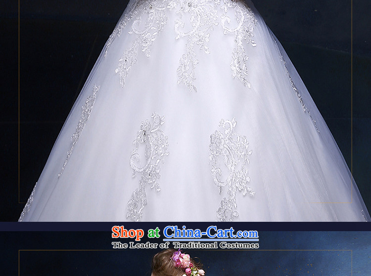 The Holy her wedding dress 2015 new A-skirt elegant shoulders, married to large wedding dresses continental minimalist white聽M Video thin pictures, prices, brand platters! The elections are supplied in the national character of distribution, so action, buy now enjoy more preferential! As soon as possible.
