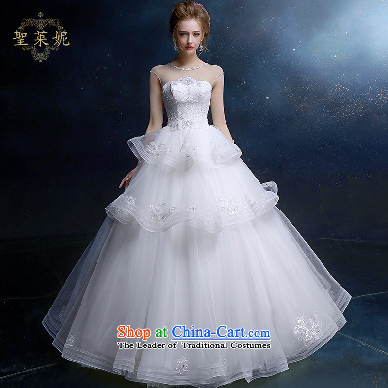 The Holy her wedding dresses summer to align the bride wedding new OSCE root yarn-shoulder bags with large white of chest straps princess wedding dress White聽M