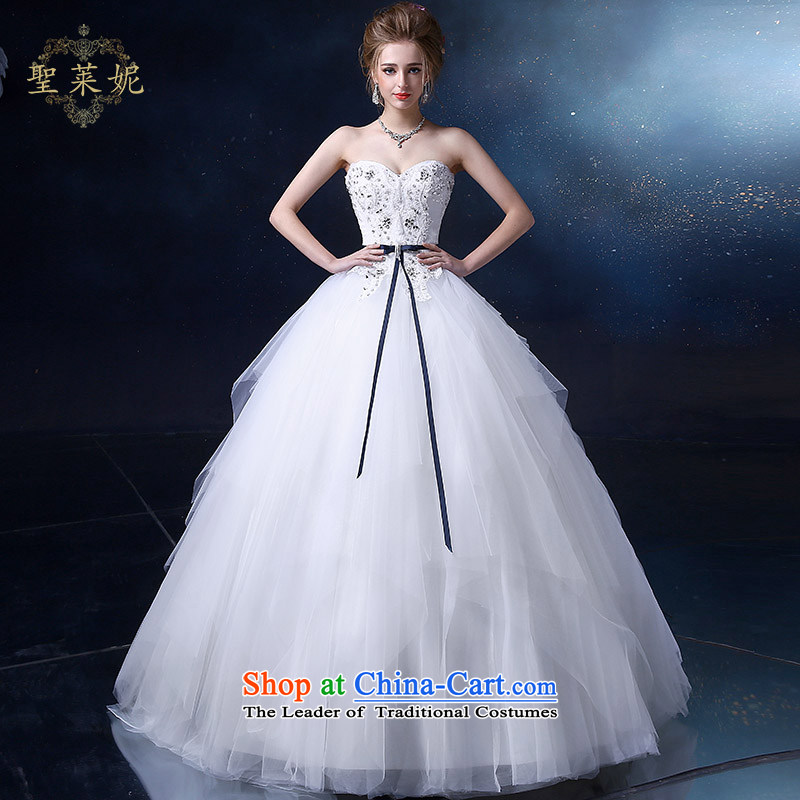 The Holy her wedding dress 2015 new anointed chest wedding irregular petticoats continental style, large custom wedding dresses white�L