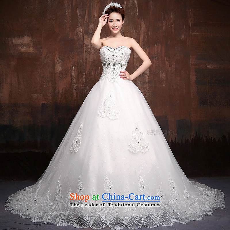 2015 new palace lace Korean anointed chest smearing The Princess Bride wedding royal?J0007 L