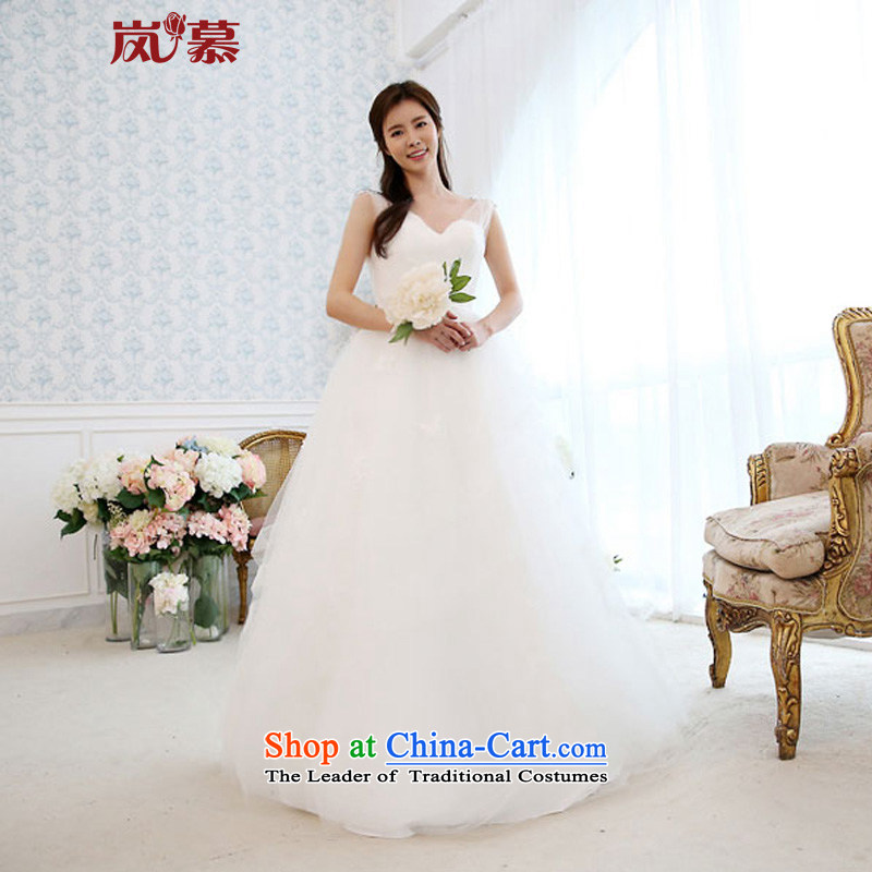 The sponsors of the new 2015 original design with large shoulders bon bon skirt align multi-storey stylish petticoats bride wedding pure white�L 90 / 74) waist chest