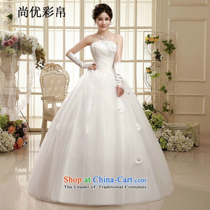 There is also optimized 8D wedding dresses, Korean-style New marriages and chest code to align the smearing pregnant women lace xs1001 thin picture color graphics?L