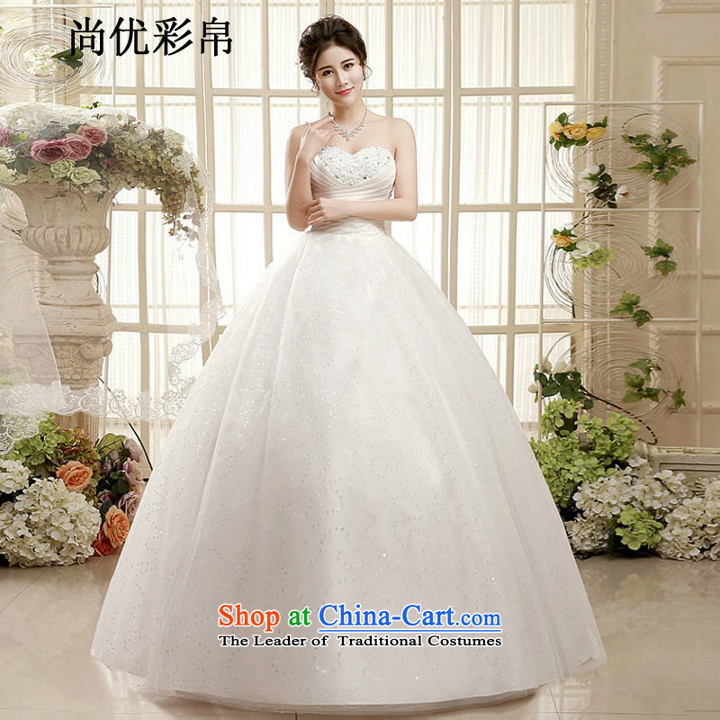 There is also a grand Korean optimize 2015 new anointed chest video thin wedding dresses and chest straps to stylish thin minimalist xs1004 video picture color?L