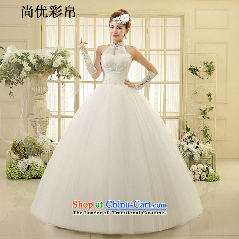 There is also optimized 8D wedding dresses spring is simple and stylish Korean alignment to hang also wedding code graphics thin diamond summer xs1012 Sau San m White?XL