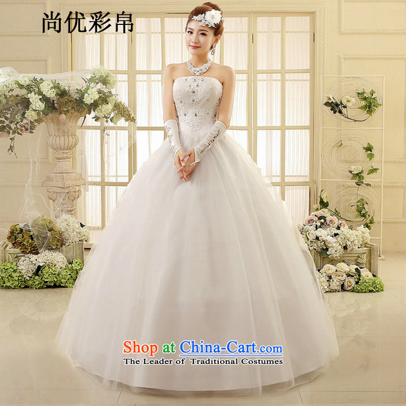 There is also a grand spring optimize new wedding dresses marriages and lace Top Loin of chest wedding to align the wedding summer xs1013 white�L