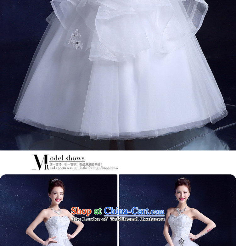 The privilege of serving the bride-leung wedding dresses 2015 New Sau San Bow Tie diamond bon bon yarn princess skirt to skirt WhiteXL Snap a picture, prices, brand platters! The elections are supplied in the national character of distribution, so action, buy now enjoy more preferential! As soon as possible.