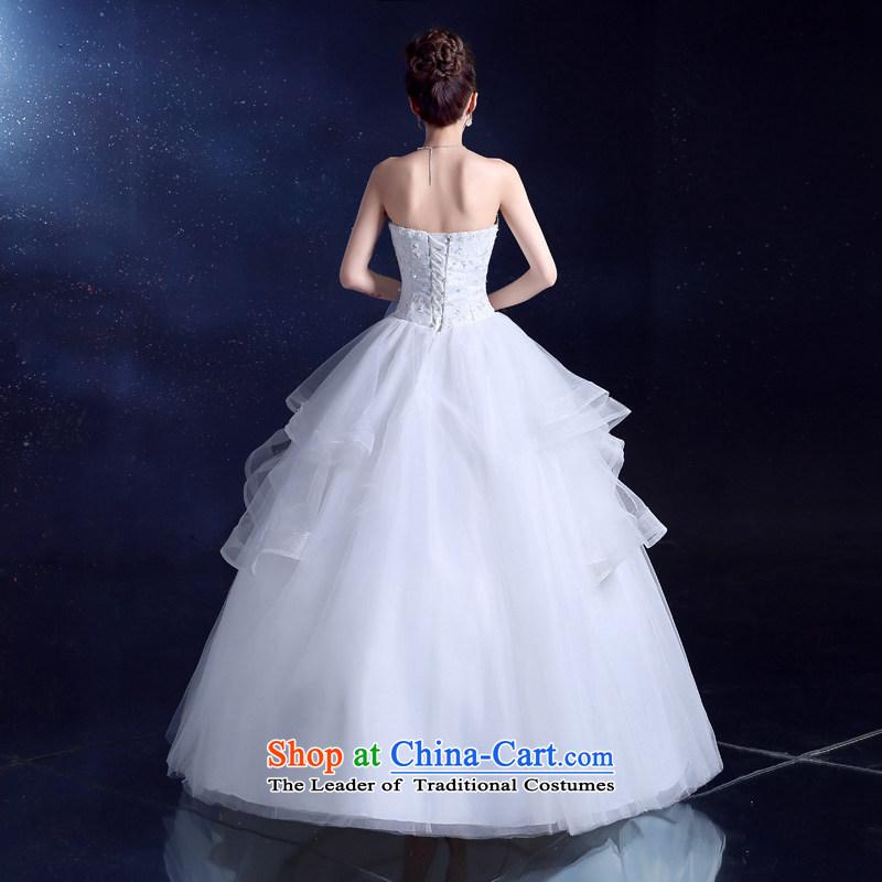 The privilege of serving the bride-leung wedding dresses 2015 New Sau San Bow Tie diamond bon bon yarn princess skirt to align the WhiteXL, a service skirt-leung , , , shopping on the Internet