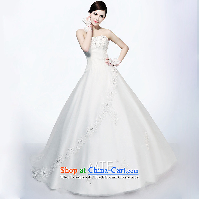 Full Chamber Fong advanced customization deluxe professional wedding dresses Korean long tail�2015 new�H694�tail 173-S 30cm