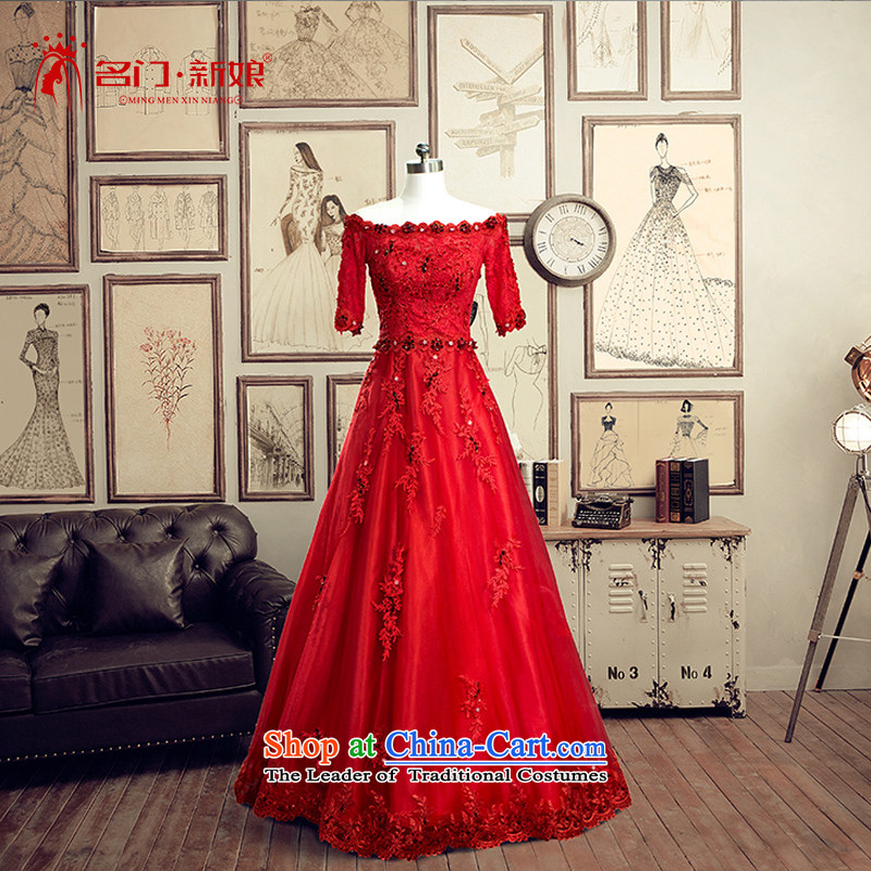 A bride evening dresses wedding dresses 2015 Spring bows Service Bridal Services Mr Ronald married bows 1,486 acts tailored Red 20_