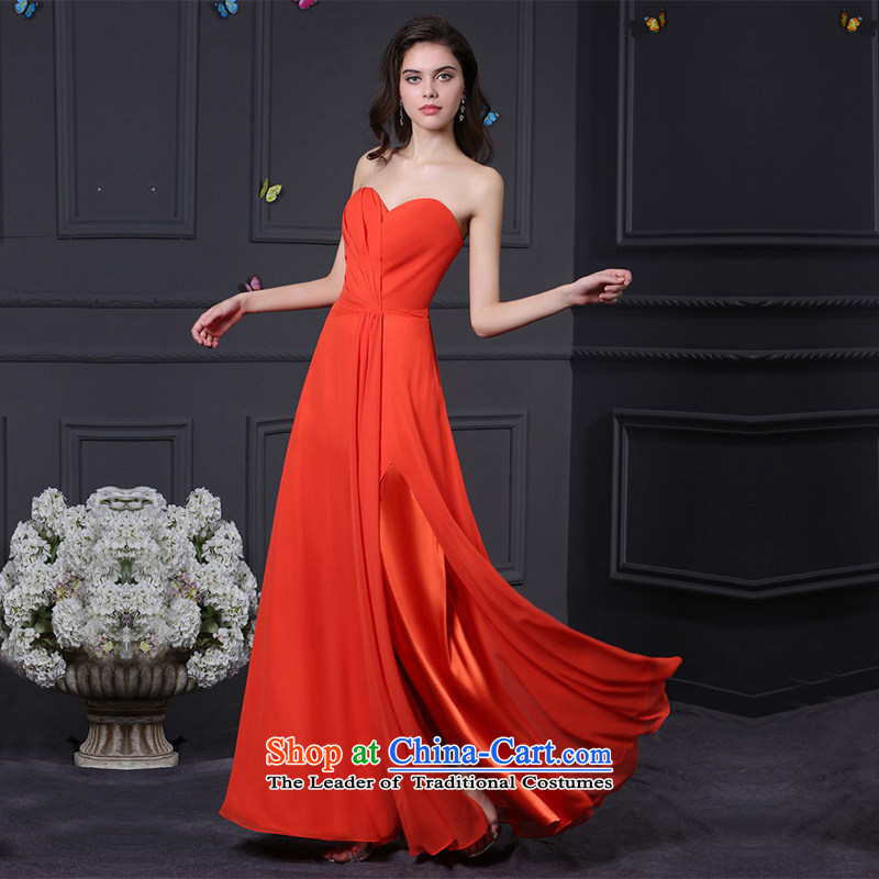 Custom Wedding 2015 dressilyme wedding dresses spring and summer new high on the forklift truck caught Sau San folds heart-shaped anointed chest bride gift clothing evening service Red - no spot�XXSTOXL)