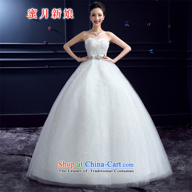 Wedding 2015 new wedding dresses honeymoon bride anointed chest wedding pregnant women to align the princess Diamond Wedding White�M