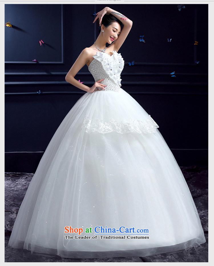 Wedding 2015 new wedding dresses honeymoon bride anointed chest ...