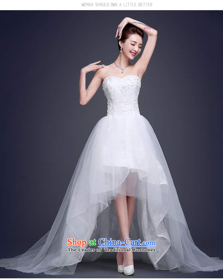 Beverly Ting front stub long after the winter wedding dresses, 2015 ...