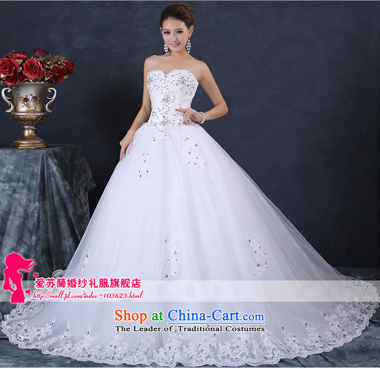 New tail wedding bride large tail wedding anointed chest simple tail new wedding anointed chest wedding white made size do not return do not change the picture, prices, brand platters! The elections are supplied in the national character of distribution, so action, buy now enjoy more preferential! As soon as possible.